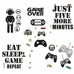 36 Pieces Gamer Wall Sticker Game Room Wall Stickers Gaming Wall Decor Kids $11.20