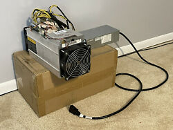 AntMiner S9 13.0TH s @0.1W GH ASIC Bitcoin Litecoin Miner APW3 PSU Included $750.00