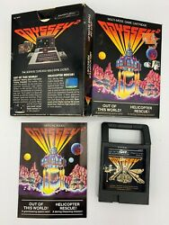1979 Odyssey2 Out Of This World Helicopter Rescue Untested video game $14.95