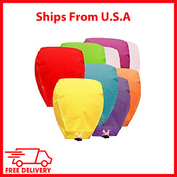 Paper Chinese Lanterns Assorted Color for Birthday Anniversary Biodegradable $28.80