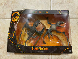 Jurassic World Toys Amber Collection Dimorphodons Action Figure In Hand 2021 New $29.99
