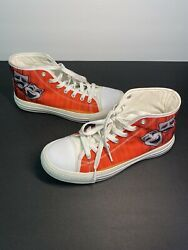 Novelty High Tops Red Performing Arts Comedy Tragedy Masks Theatre Arts Size 7 $15.00