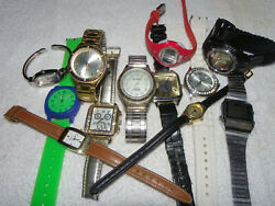 Lot of 12 Watches C1 • MILAN • CASIO • COLEMAN • TIMEX • TERNER • quot;AS ISquot; $15.00