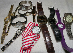 Lot of 12 Watches C7 • MILAN • Wrangler • GUESS • MORE • quot;AS ISquot; $15.00