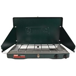 Coleman Gas Camping Stove Classic 2 Burner Portable Outdoor Grill New $50.21