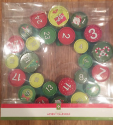 New Target Paper Wreath Advent Calendar 25 count 18quot; inches $32.99