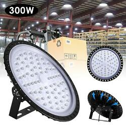 300W UFO LED High Bay Light Industrial Warehouse Light Fixture Commercial Lights