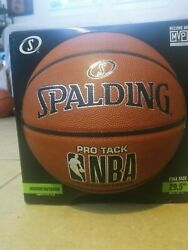 Spalding Pro Track Indoor Outdoor NBA Basketball Full Size 29.5quot; $25.00