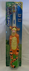 Tigger Oral B Stages Battery Toothbrush new 2004 from Disney#x27;s Winnie the Pooh $16.75