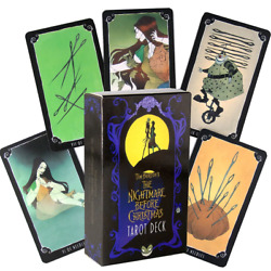 The Nightmare Before Christmas Tarot Deck 78 Cards $11.98