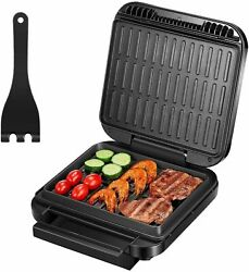 Deik 2 in 1 Electric Indoor Grill amp; Panini Press Grill S6103A $24.95