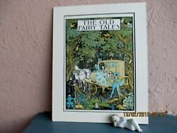 vintage illustration of fairy tales by P. Vinton Brown 1948 $14.50