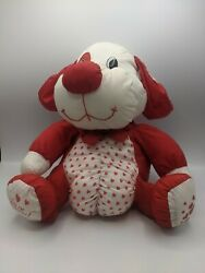 TB Trading Co Valentine Dog Red White amp; Pink Nylon Puffalump quot;You#x27;re Specialquot; $35.00