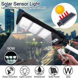140000LM Solar LED Street Light Commercial Outdoor IP67 Area Security Road Lamp