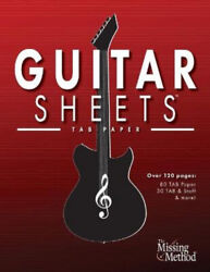 Guitar Sheets TAB Paper: Over 100 pages of Blank Tablature Paper TAB Staff $16.23