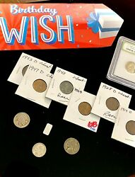 Birthday Coin amp; Silver Grab Bag Gifts 11x Old Rare U.S Coins .999 Silver $18.99
