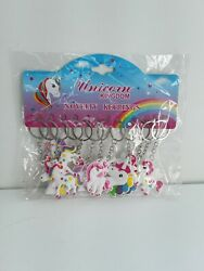 Party Goody Bag Keyrings Kids Chain Novelty pack Of 12 Gift Girl New sealed GBP 6.00