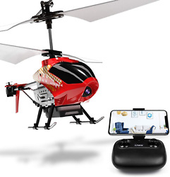 Cheerwing U12S Mini RC Helicopter with Camera Remote Control Helicopter for Kids $52.90
