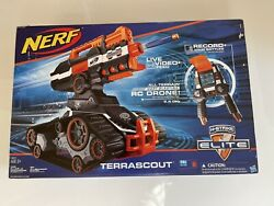 Nerf N Strike TerraScout RC Drone Elite Tank With REMOTE CONTROL Brand New $369.99