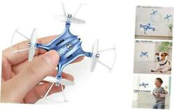 Mini Drones for Kids or Adults RC Drone Helicopter Toy Easy Indoor Small Blue $60.78