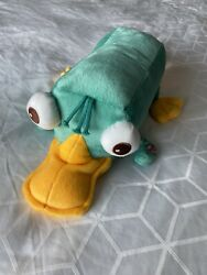 """Disney Perry The Platypus 19"""" Talking Plush Phineas amp; Ferb Sound Button $17.50"""