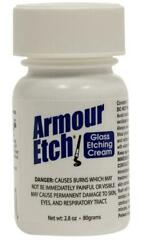 Armour Etch Glass Etching Cream 2.8 oz jar quot;SHIPS TODAYquot;3 $9.95