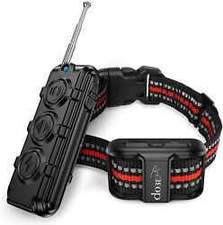 Bark Shock Collar Dog Training Collar For Puppy Small Dog Waterproof with Remote $33.25