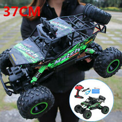 Electric RC Cars 4WD Monster Truck Off Road Vehicle Remote Control Crawler $48.88