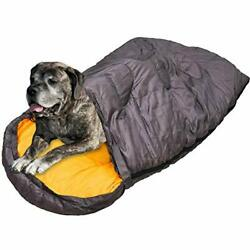 ALPHA PET ZONE Dog Sleeping Bag Camping Dog Bed Extra Large Perfect Backpacking $46.88