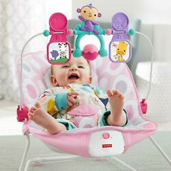 Fisher Price Infant to Toddler Rocker Bouncer Pink DTH00 $52.00