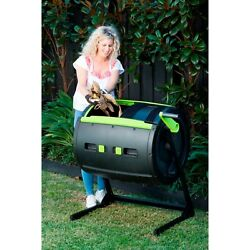 RSI MAZE 65 Gal. Two Stage Tumbling Composter Black $195.99