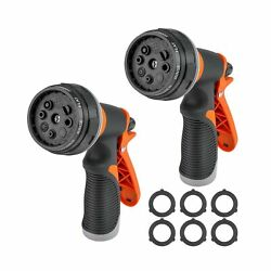 2 Packs Water Hose Nozzle Garden Hose Sprayer for Watering Plants Cleaning House $11.91