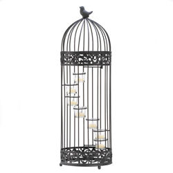 Birdcage Staircase Candle Stand $44.99