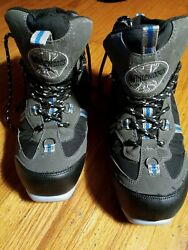 Whitewoods Thinsulate Cross Country Ski Boots Black Gray Size 40 $35.00