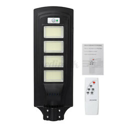 1900000LM Commercial LED Solar Street Light Outdoor Area Security Road W