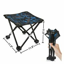 Camping Stool Portable Folding Stool Portable Chair Mini Foldable Camouflage $27.33