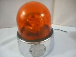 Antique Federal Sign amp; Signal Beacon Ray mod 15 A amber globe EUC for age $335.00