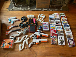 Wii mini with huge lot of accessories games $200.00