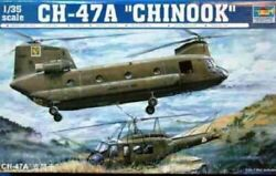 Trumpeter 1 35 CH47A Chinook Helicopter Plastic Model Kit $136.99