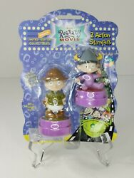Nickelodeon Rugrats Movie Limited Collectors Edition Action Stampers Sealed 1998 $21.94