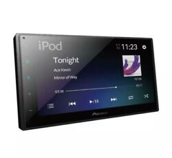 Pioneer DMH 130BT 6.8quot; Touchscreen Double Din Receiver Stereo Apple Android $369.00
