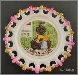 Lacey Edge Round A Fat Kitchen Lean Will Wall Pocket $21.78