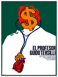 El Profesor Guido Tersilli Italian Decor Poster.Graphic Art Interior design.3384 $19.00