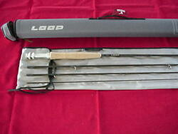 Loop Fly Rod Goran Andersson Signature 10ft 4 Piece #7 Line Model #GASS7100-4A