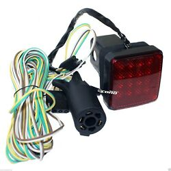 16 LED TOWING HITCH COVER BRAKE LIGHT W 20FT WIRE amp; ADAPTOR KIT 4 2quot; RECIEVER $36.95