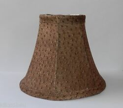 Animal Print Fabric Chandelier Lamp Shade Browns Traditional any room $11.99