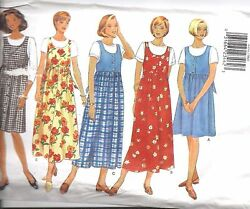 4454 UNCUT Vintage Butterick SEWING Pattern Misses Maternity Jumper OOP SEW FF