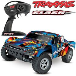 Traxxas Slash XL 5 2WD RTR w TQ 2.4GHz Short Course Electric RC Truck 58024 REDX $219.99