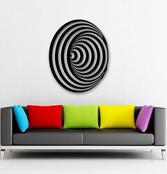 Wall Stickers Vinyl Decal Optical Illusion Modern Home Decor Room ig950 $29.99