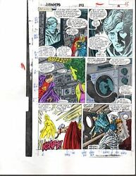 1988 Buscema Avengers 292 page 15 Marvel original color guide art: ThorShe-Hulk